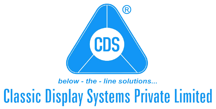 Classic Display Systems Logo x Tokinomo Instore Marketing Robots