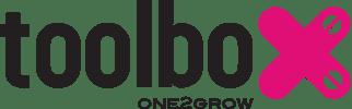 Toolbox Logo and Tokinomo Instore Marketing Robots