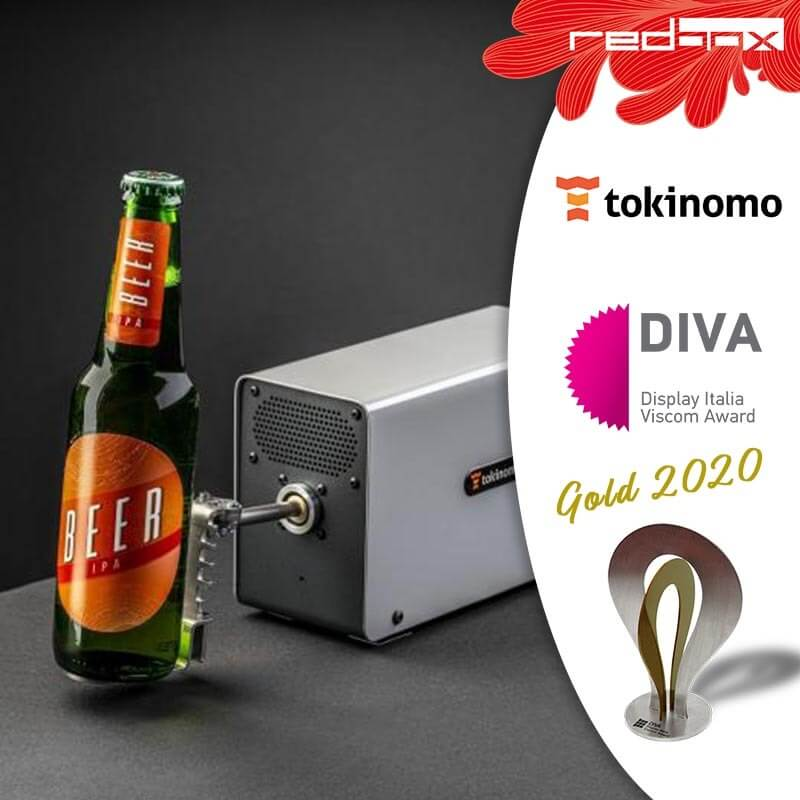 Tokinomo receives gold medal for best POP digital innovation in Italy